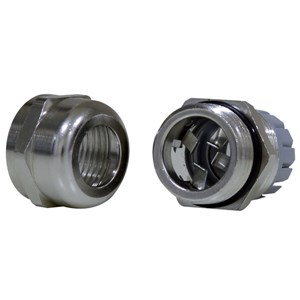 M12 EMC Metal Cable Gland 3-6.5mm