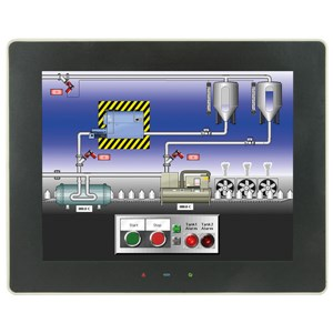 "10"" Graphite HMI, Hi Res/Dual Ethernet"