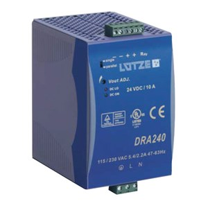 10A 24Vdc Single Phase Power Supply