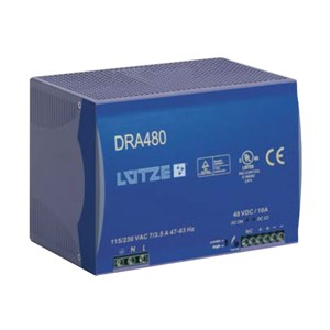 10A 48Vdc Single Phase Power Supply