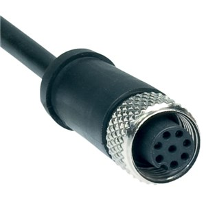 M12 8pin Connecting Cable - 10m