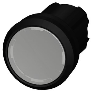 Illuminated Plastic Pushbutton White