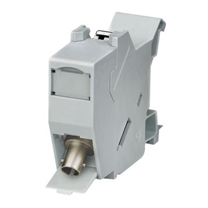 LC Automation - Weidmuller DIN rail outlet, ST multimode
