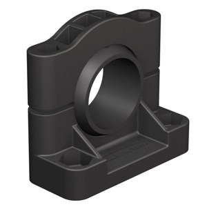 30mm Bracket Black Compact Plastic