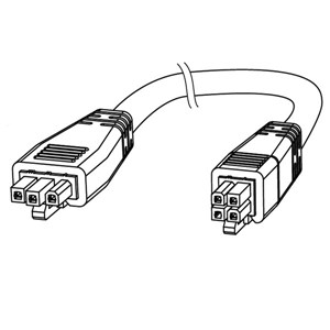 910mm Double Ended Cable AC Models