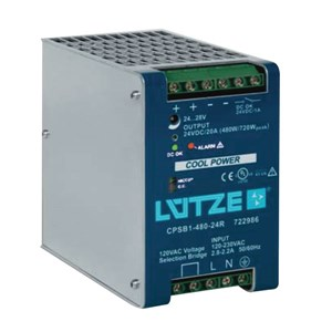 20A 24Vdc Single Phase Power Supply
