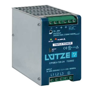 30A 24Vdc Three Phase Power Supply