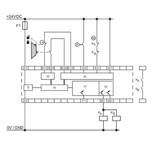 LC Automation - Schmersal, multifunction safety relay, 2 ... on