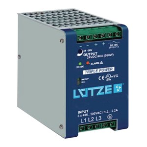 20A 24Vdc Three Phase Power Supply