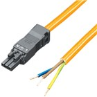 SZ Infeed Cable 3P Vac Orange 3m (Pk5)