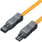 SZ Through-wiring Cable 3P Orange 1m