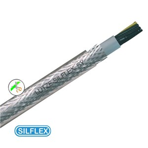 4x6mm PVC SY Steel Braid Cable Per M