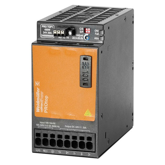 24 VDC 480W Progressive Automations Power Supply Box 20A 110-230 VAC