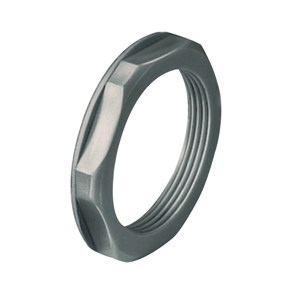 M20 Grey Plastic Locknut