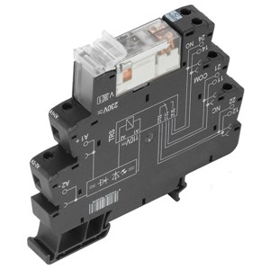TRS 24Vac/dc 8A 2CO Relay