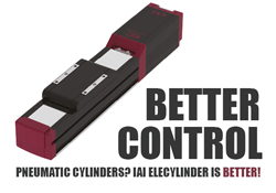 Pneumatic Cylinders are Hard to Control - IAI EleCylinder is Better!