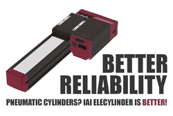 Pneumatic Cylinders are Unreliable - IAI EleCylinder is Better!