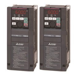 Mitsubishi Electric FR-A800 and FR-F800 a.c. inverters at LC Automation