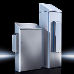 Rittal Air-Water Heat Exchanger for IP69K Enclosure Cooling in the Food Industry