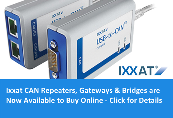 IXXAT CAN bus Topology Components