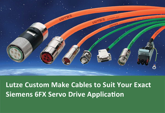 Lutze Custom Make Cables to Suit Your Siemens 6FX Applications